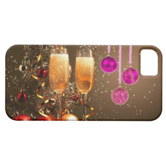 Three Purple Balls with Champagne iPhone 5 Cases