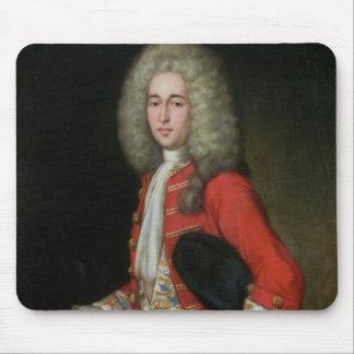 Three-Quarter Length Portrait of a Gentleman Weari Mouse Pad