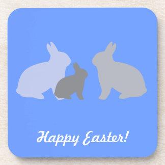 Three Rabbits Cork Coaster