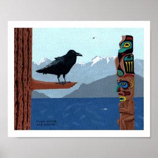 Three Ravens Poster