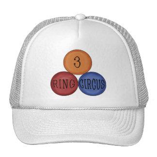 Three Ring Circus Cap