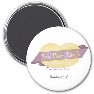 Three Rivers Kringla Magnet