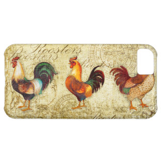 Three Roosters iPhone 5C Case