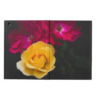 Three roses case for iPad air