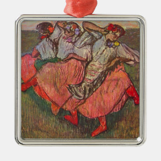 Three Russian Dancers by Edgar Degas Christmas Ornament