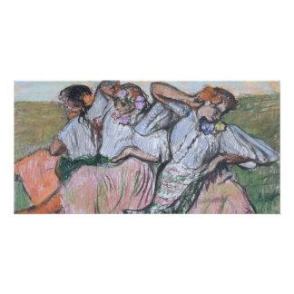 Three Russian Dancers by Edgar Degas Photo Cards