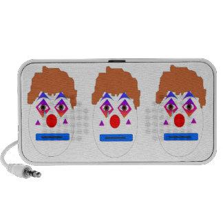 Three Sad Clowns Speaker System