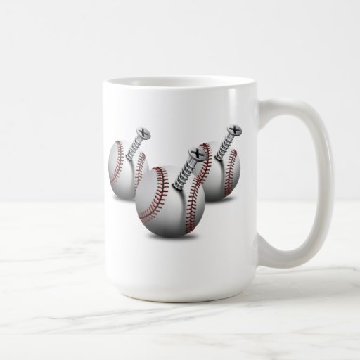 Three screwedballs basic white mug