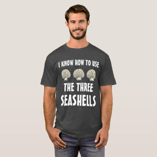 Three Seashells Meme T-Shirt