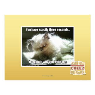 Three seconds postcard
