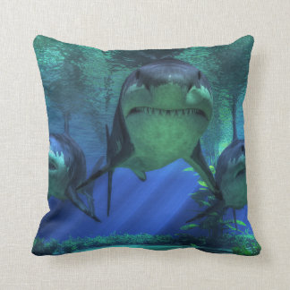 Three Sharks Cushion