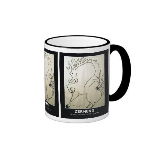 Three-sided Zermeno Stallion Coffee Mug