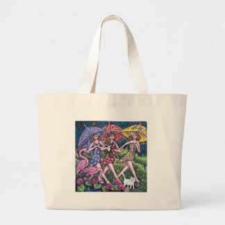 Three Sisters Large Tote Bag