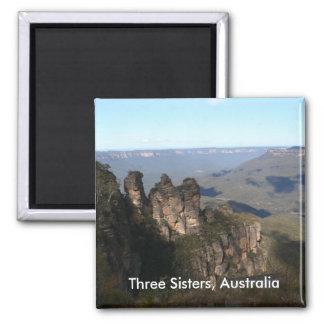 Three Sisters Magnet