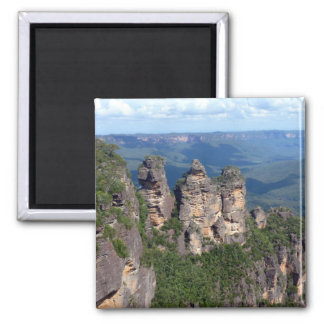 three sisters square magnet