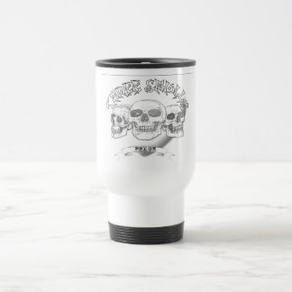 Three Skull Peace Travel/Commuter Mug