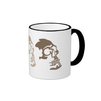 Three Skulls Go Commando Ringer Mug