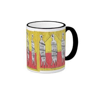three souls pyramid ringer mug