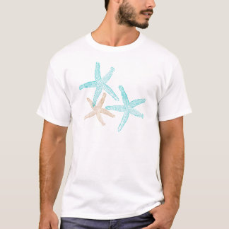 Three Starfish Prints Apparel T-Shirt