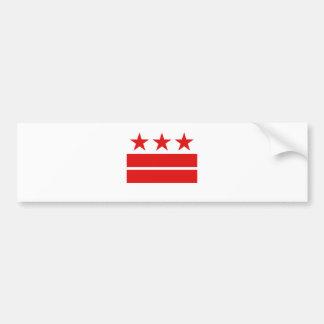 Three Stars 2 Bars Bumper Sticker