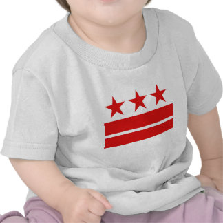 Three Stars 2 Bars T-shirts