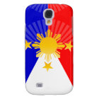 Three Stars & A Sun Stylised Philippine Flag Galaxy S4 Case