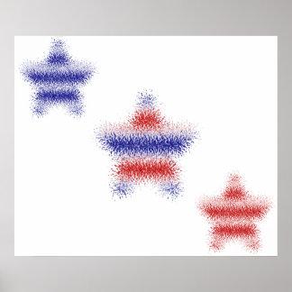 Three Stars and Stripes Huge Print