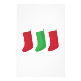 Three Stockings Stationery