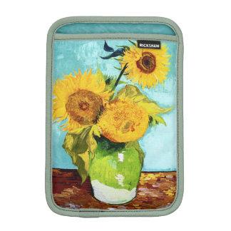Three Sunflowers by Van Gogh Fine Art iPad Mini Sleeves