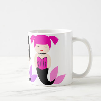 Three Sweet Gothic Mermaids Coffee Mug