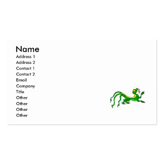 Three Tailed Dragon Business Cards
