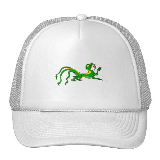 Three Tailed Dragon Mesh Hats