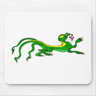Three Tailed Dragon Mousepad