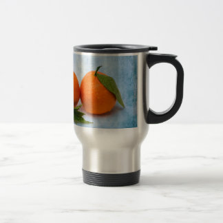 Three Tangerines Travel Mug