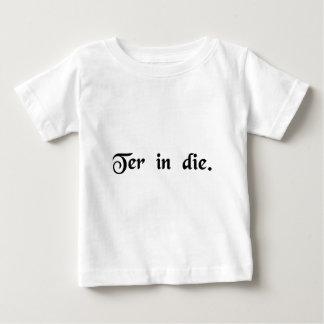 Three times a day. t-shirt