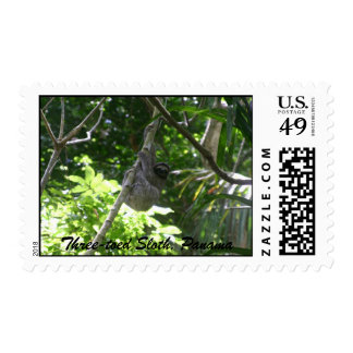 Three-toed Sloth, Panama Postage Stamp