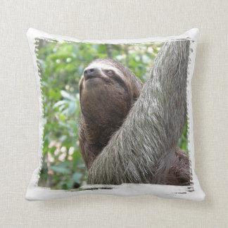 Three Toed Sloth Pillow