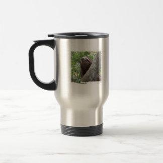 Three Toed  Sloth Travel Mug