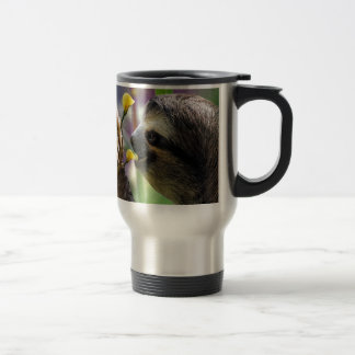 Three-Toed Tree Sloth Travel Mug
