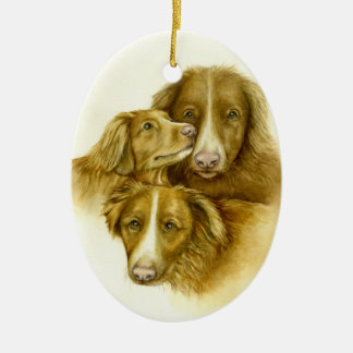 Three Toller Ornament
