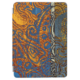 Three Tone Blue Jean Swirl iPad Air Cover