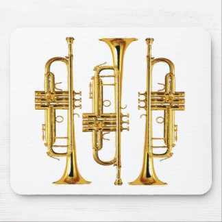 Three Trumpets Mouse Mat