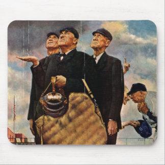 Three Umpires Mouse Mat