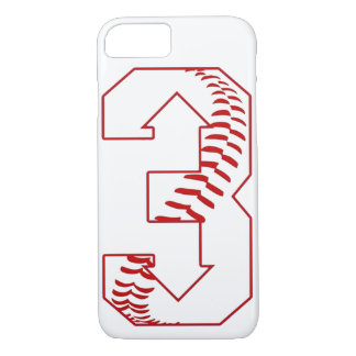 Three Up, Three Down Baseball Saying Custom iPhone 8/7 Case