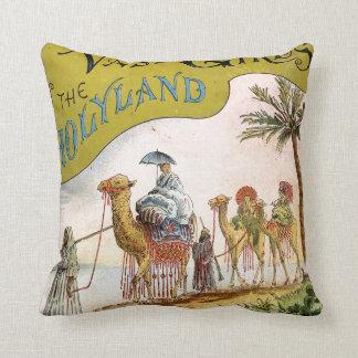 Three Vassar Girls in the Holyland Cushion