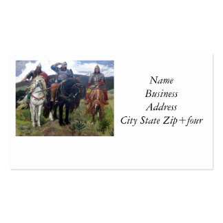 Three Viking Scouts Pack Of Standard Business Cards