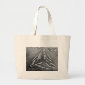 Three ways jumbo tote bag