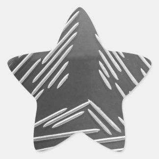 Three ways star sticker