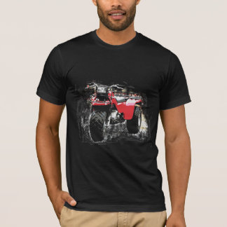 Three Wheeled ATC Red Trike Motorbike T-Shirt