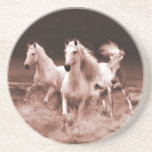 Three White Horses Coasters